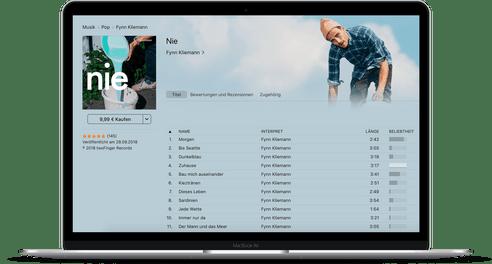 Fynn Kliemann auf iTunes