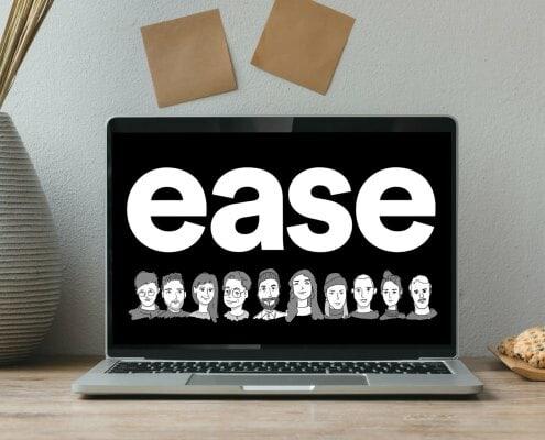 ease logo MockUp