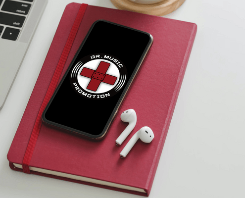 Dr Music Promotion Logo
