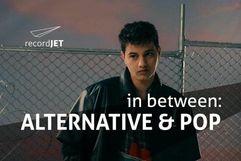 In Between Alternative & Pop recordJet Playlist